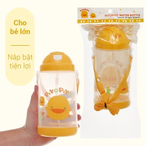 Bình uống nước cho bé lớn có dây đeo Piyo Piyo PY830302 800ml dành cho bé