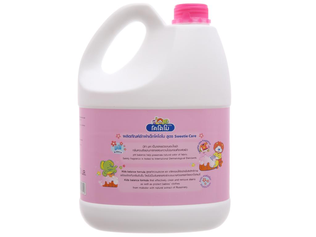 Nước giặt xả cho bé Kodomo Sweetie Care can 3 lít 2