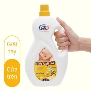 Nước giặt xả cho bé Baby Care hương thảo mộc chai 2 lít