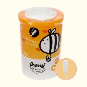 Tăm bông cho bé Ikami đầu xoắn hộp 160 cây