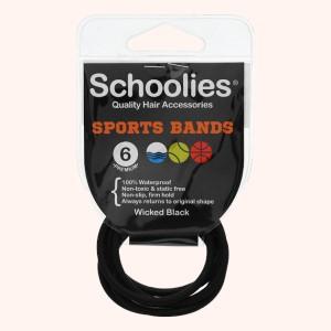 Bộ 6 dây cột tóc thể thao Schoolies