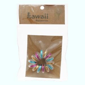 Thun cột tóc lò xo Kawaii (giao mẫu ngẫu nhiên)