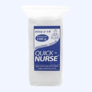 Bông y tế Quick Nurse 100g