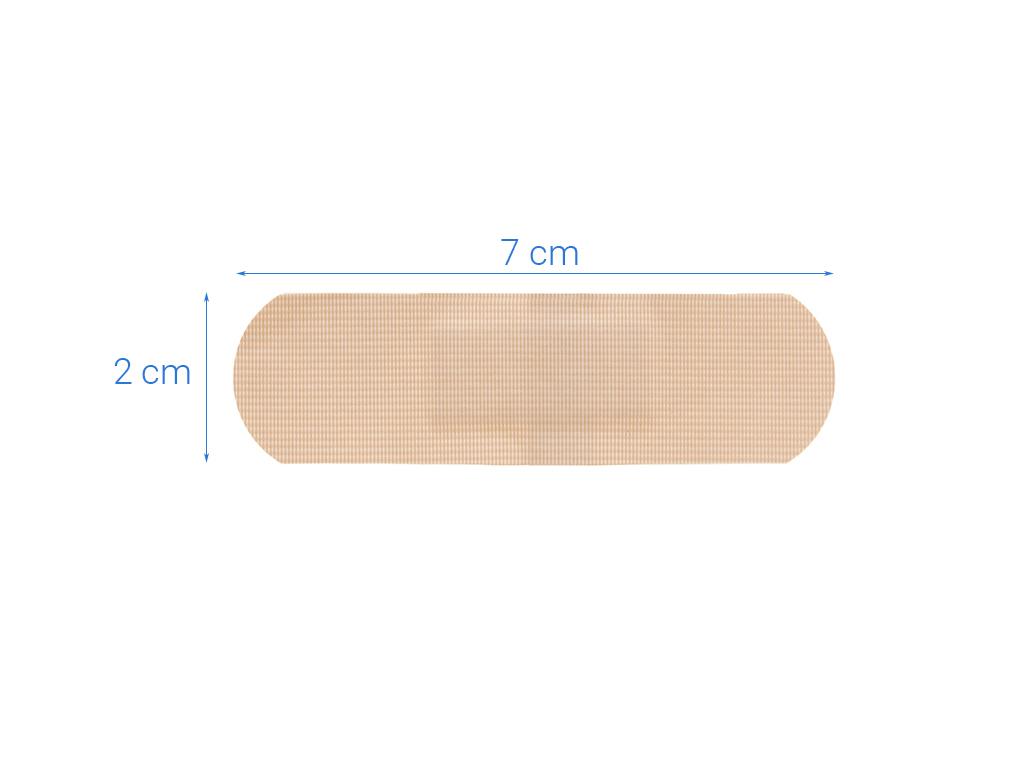 Băng cá nhân Urgo Waterproof chống thấm 10 miếng 2 x 7.2 cm 4