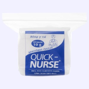 Bông y tế Quick Nurse bông y tế 10g