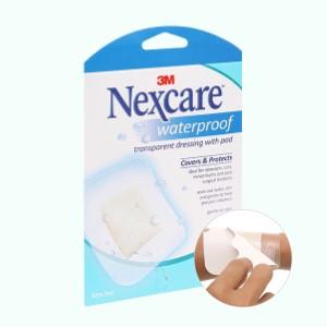 Miếng dán bảo vệ vết thương chống thấm nước Nexcare 3 miếng (8x10cm)
