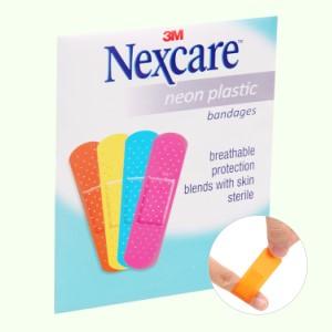 Băng cá nhân Nexcare màu neon màu neon 9 miếng (19x72mm)