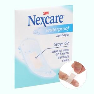 Băng cá nhân chống thấm nước Nexcare 5 miếng (65x25mm)