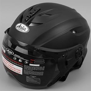 Mũ bảo hiểm 1/2 có kính size L Asia MT-117K Size L