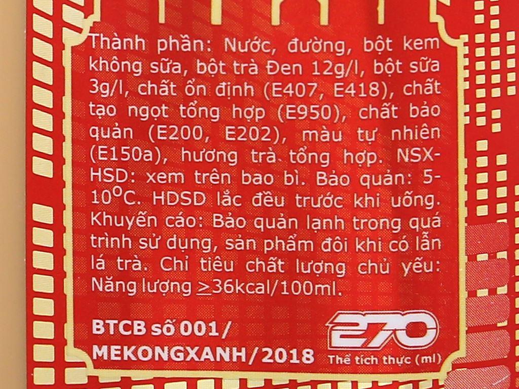 Trà sữa trân châu Ciao Thái Sơn chai 270ml 4