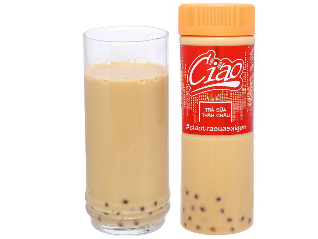 Trà sữa trân châu Ciao Thái Sơn chai 270ml 6