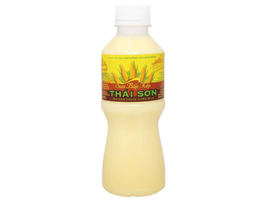 Sữa bắp nếp Thái Sơn chai 330ml 1