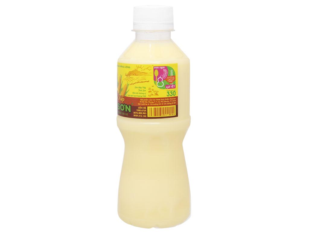 Sữa bắp nếp Thái Sơn chai 330ml 2