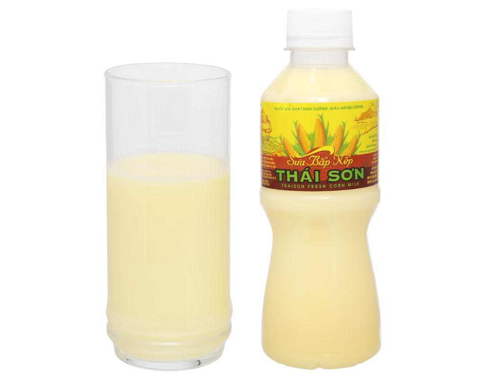 Sữa bắp nếp Thái Sơn chai 330ml 7