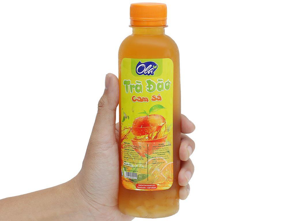 Trà đào cam sả Ola chai 330ml 4