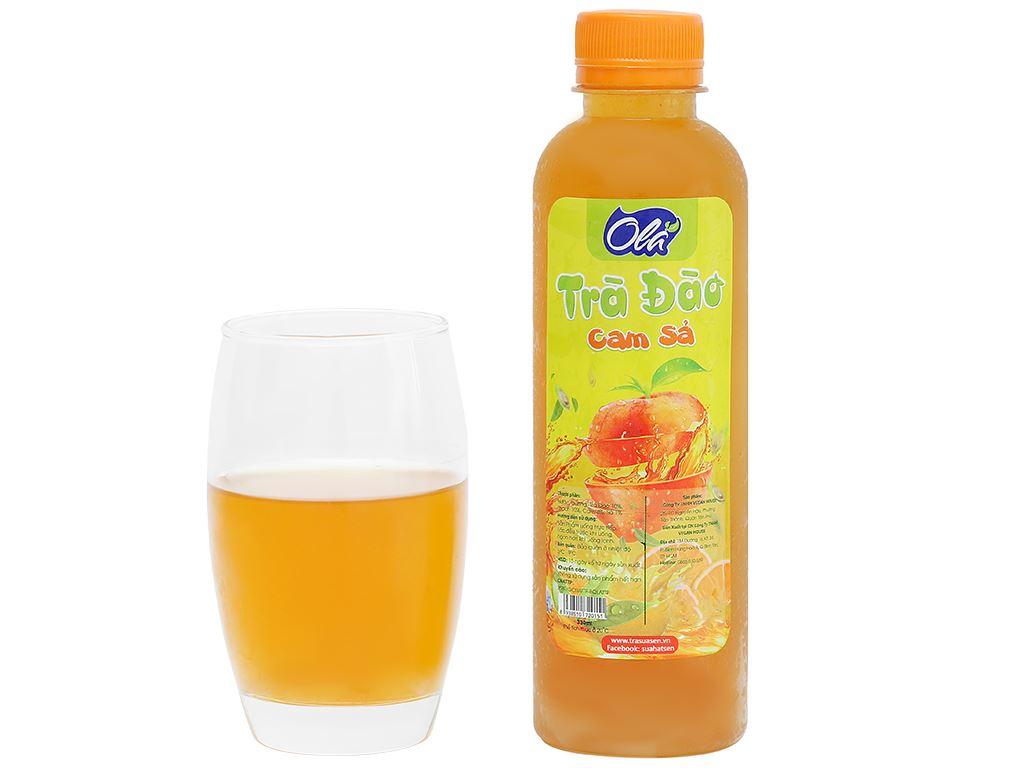 Trà đào cam sả Ola chai 330ml 5
