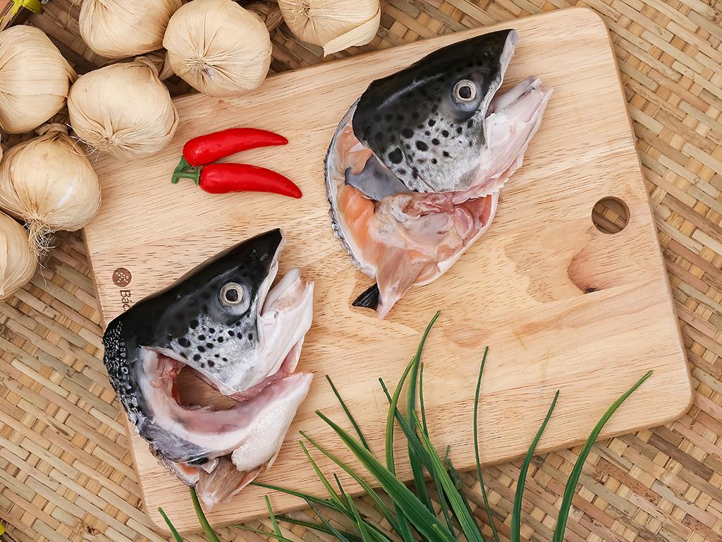 Đầu cá hồi tươi túi 500g 6