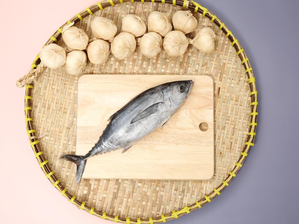 Cá ngừ làm sạch khay 300g 1