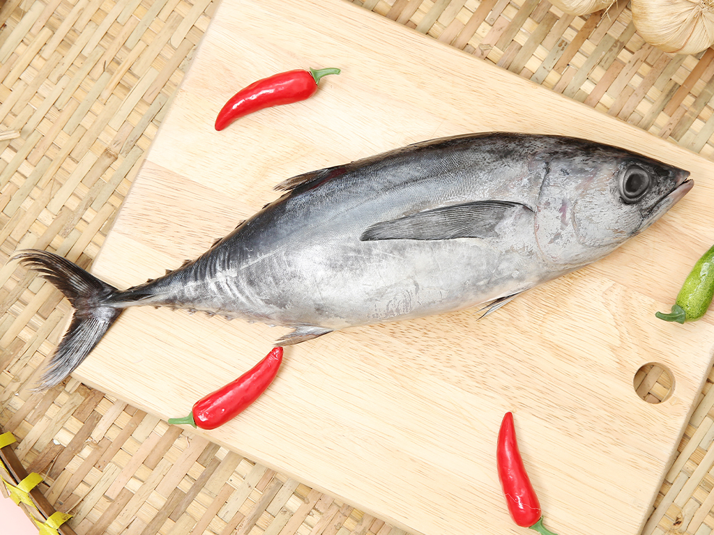 Cá ngừ làm sạch khay 300g 2