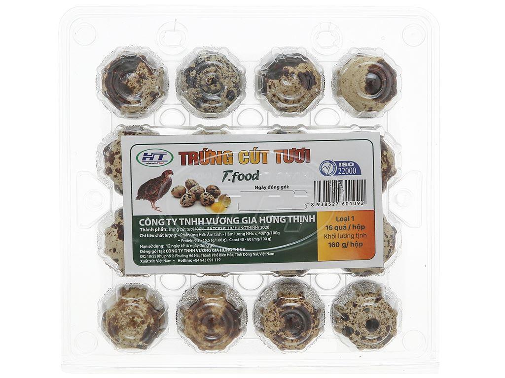 Hộp 16 trứng cút T.Food 2