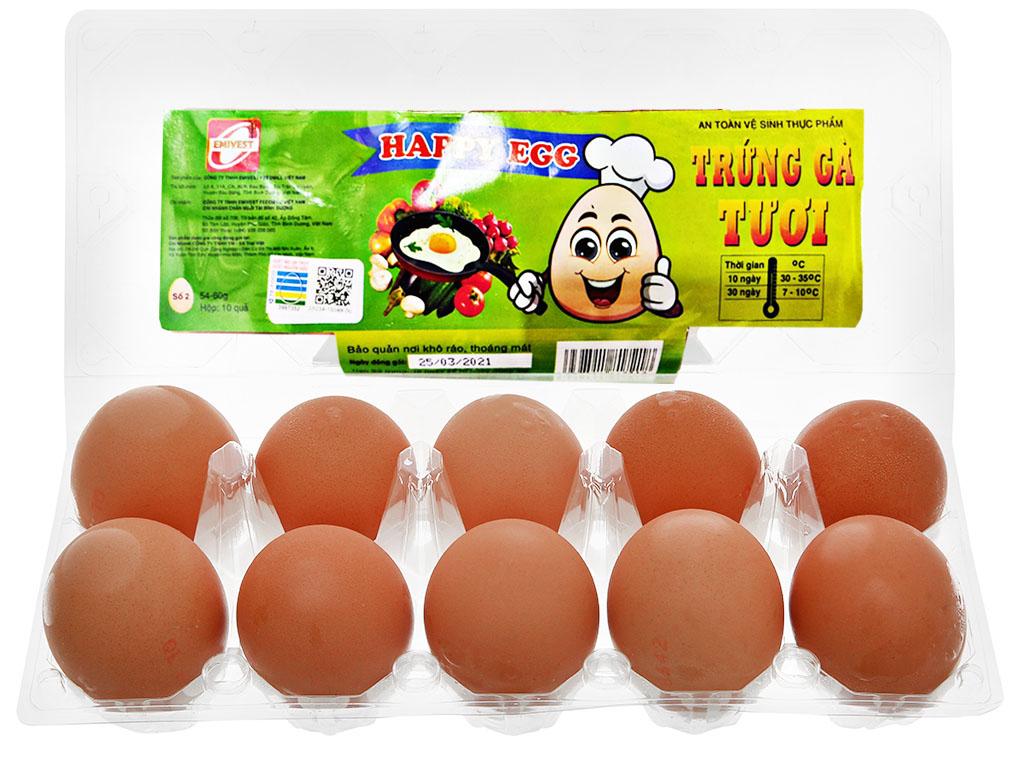 Hộp 10 trứng gà tươi QLEgg 3