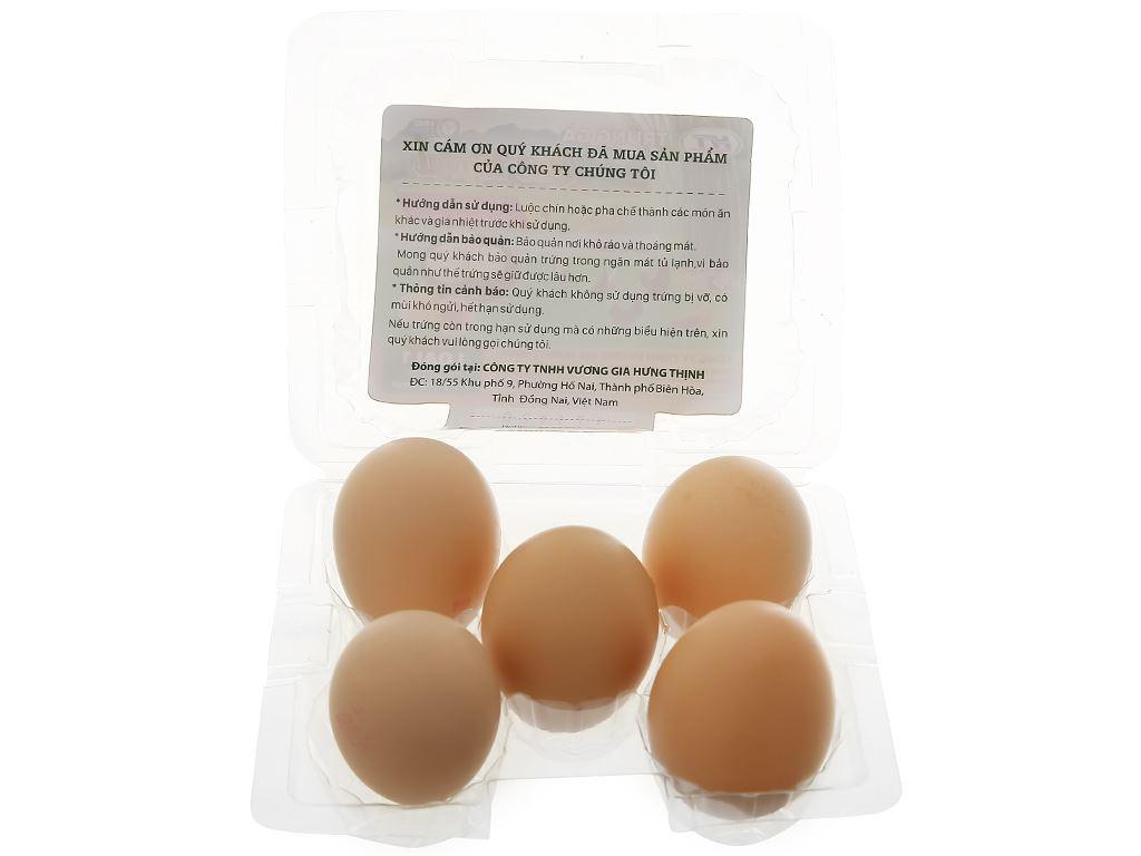 Hộp 5 trứng gà quê ngoại T.Food 3