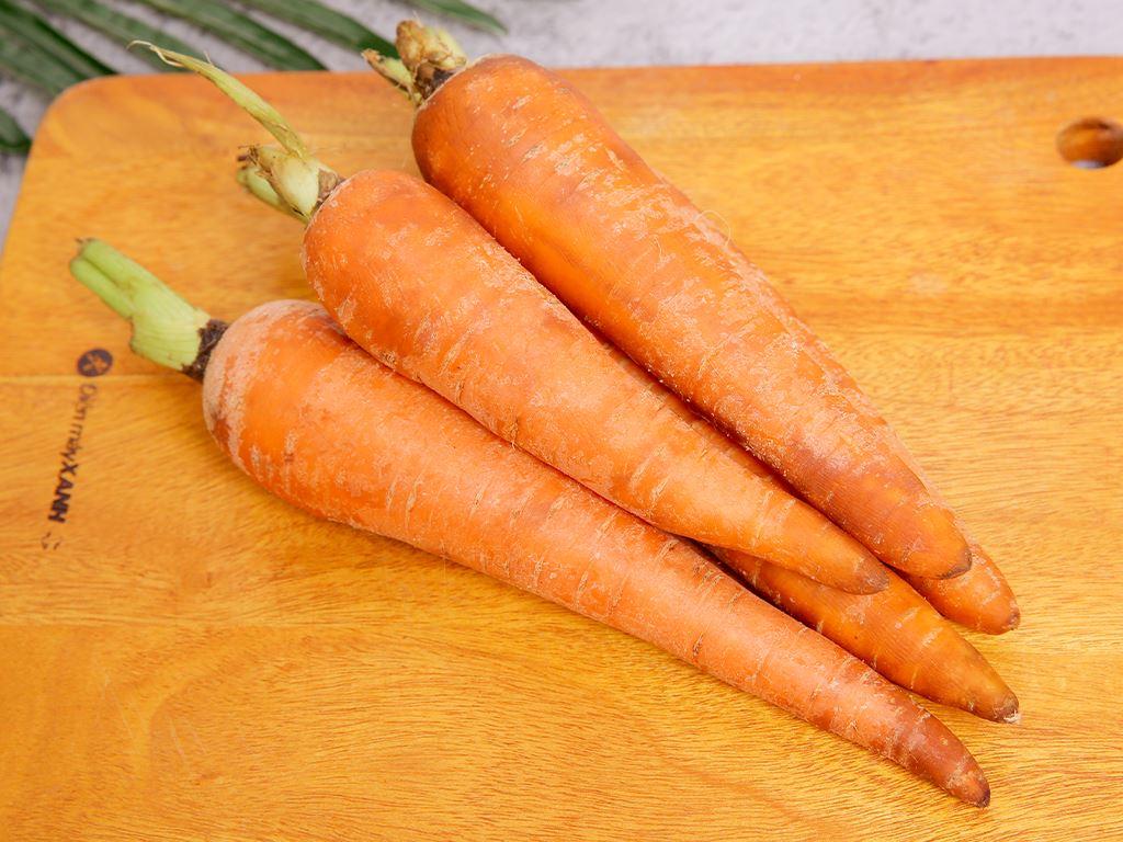 Cà rốt Đà Lạt túi 500g 5