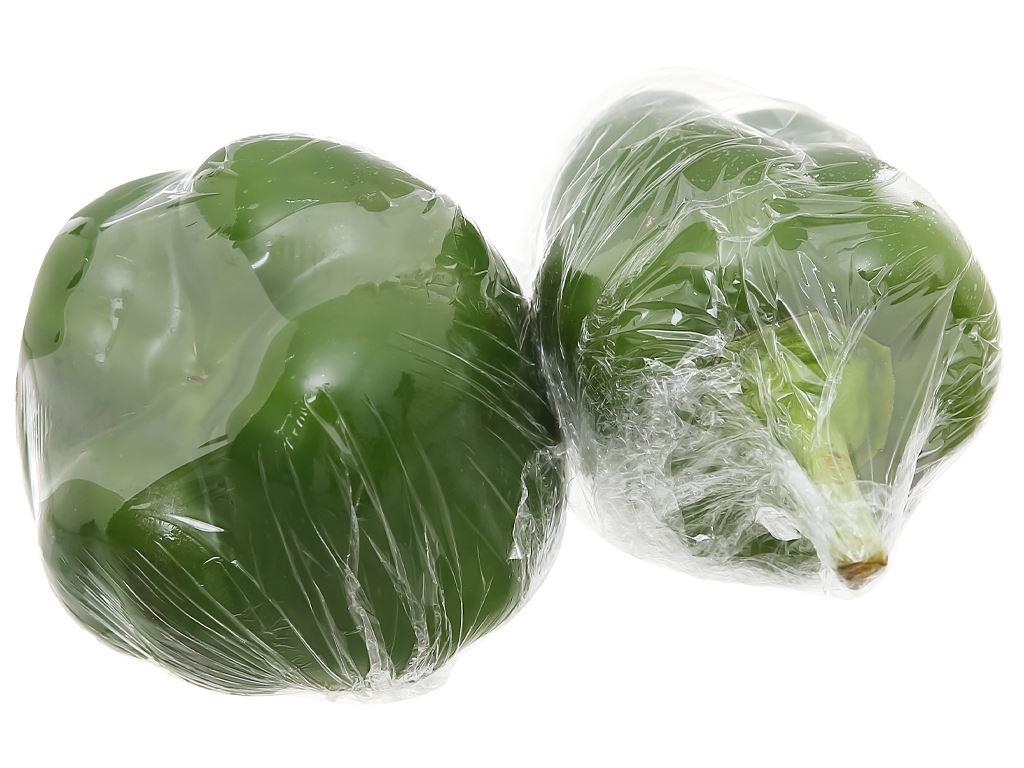 Ớt chuông xanh túi 300g 1
