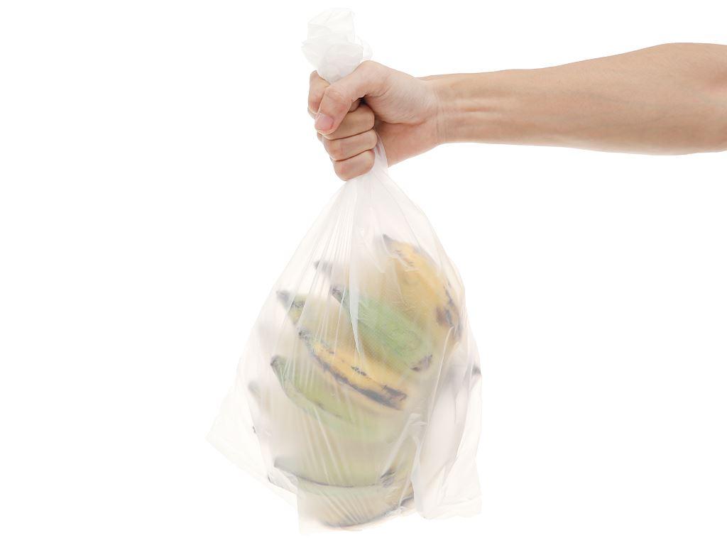 Chuối sứ túi 1kg (giao ngẫu nhiên chuối sống hoặc chín) 5