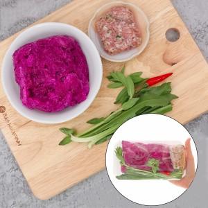 Canh khoai mỡ thịt xay khay 400g