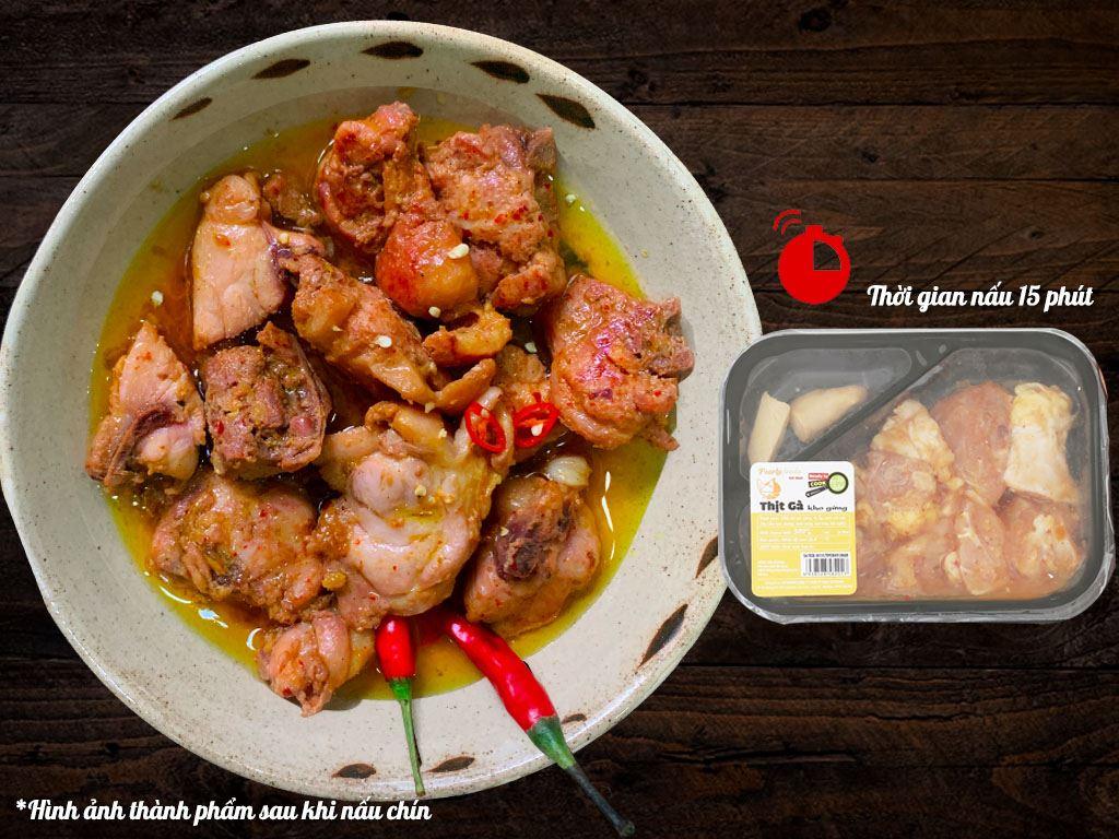 Thịt gà kho gừng hộp 300g 2