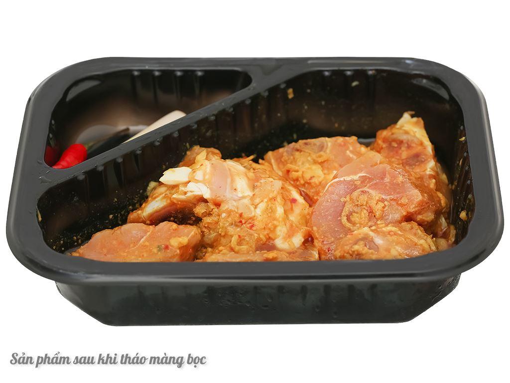 Thịt gà ram sả ớt hộp 300g 4