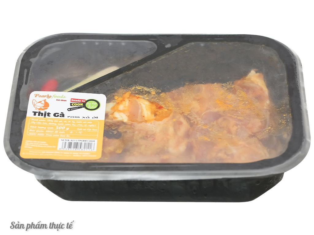 Thịt gà ram sả ớt hộp 300g 3