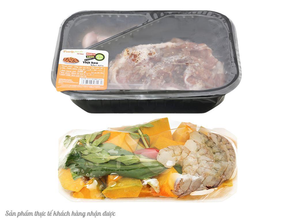 Combo thịt kho tiêu và canh tôm bí đỏ 2