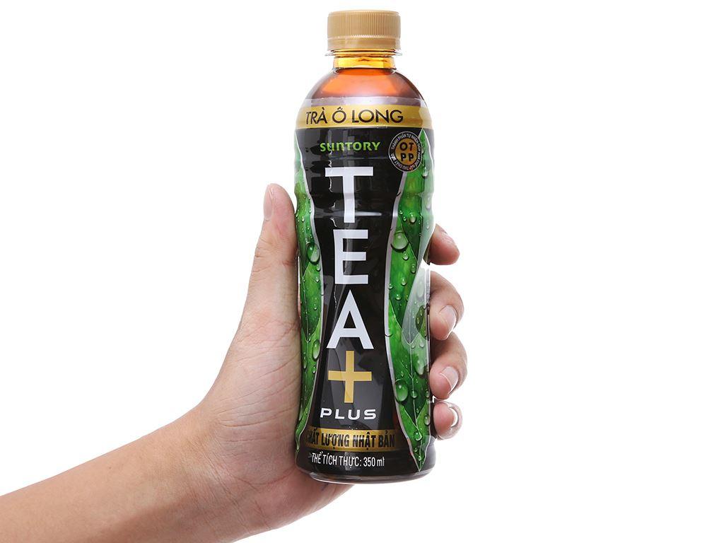 6 chai trà ô long Tea Plus 350ml 6