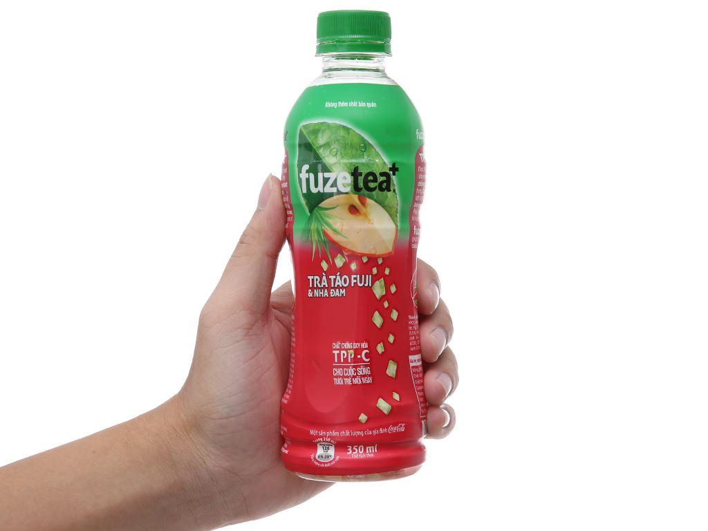 Trà táo và nha đam Fuze Tea 350ml 4