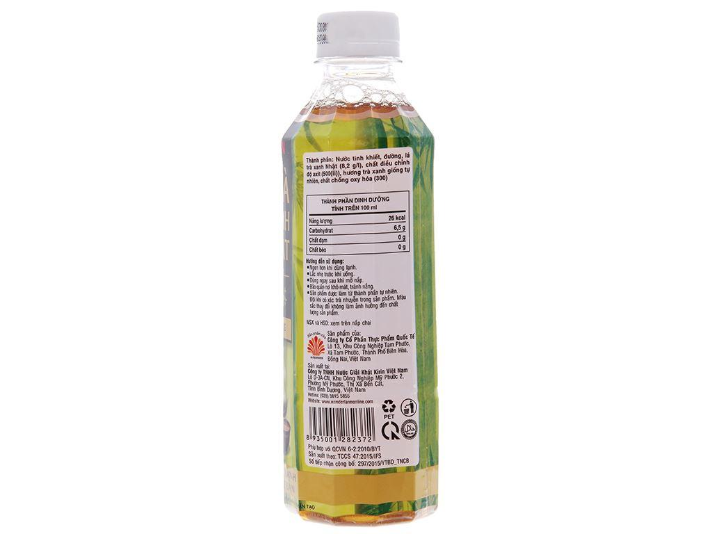 Thùng 24 chai trà xanh Nhật Kirin ít đường 345ml 3