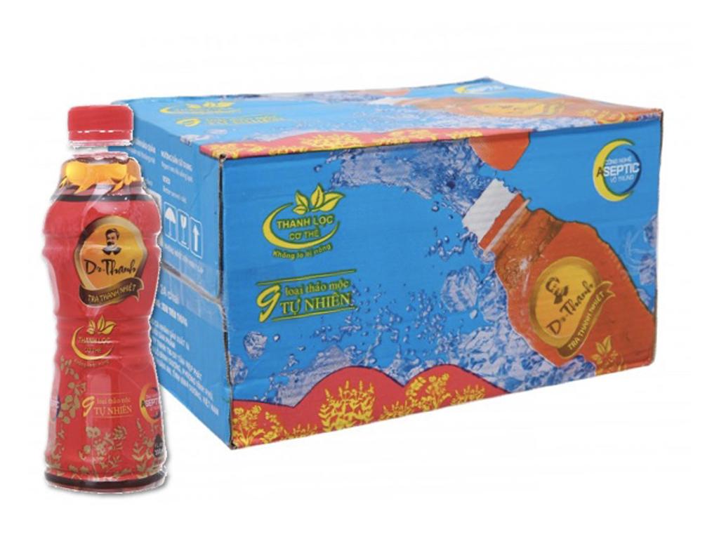 Thùng 24 chai trà thanh nhiệt Dr.Thanh 330ml 1
