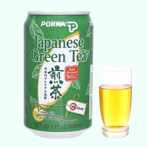 Trà xanh Nhật Pokka không đường 300ml