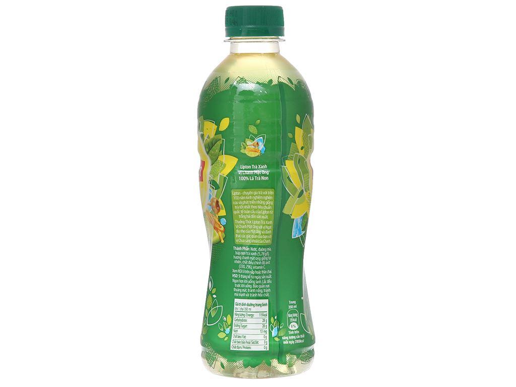 6 chai Lipton vị chanh mật ong 350ml 3