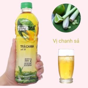 Trà chanh với sả Fuze Tea 450ml