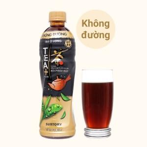 Trà ô long Tea Plus không đường 455ml