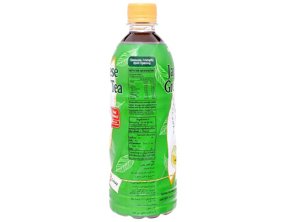 Thùng 24 chai Nhật Pokka không đường 500ml 3