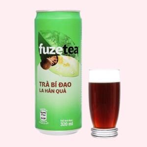 Trà bí đao Fuze Tea la hán quả 330ml
