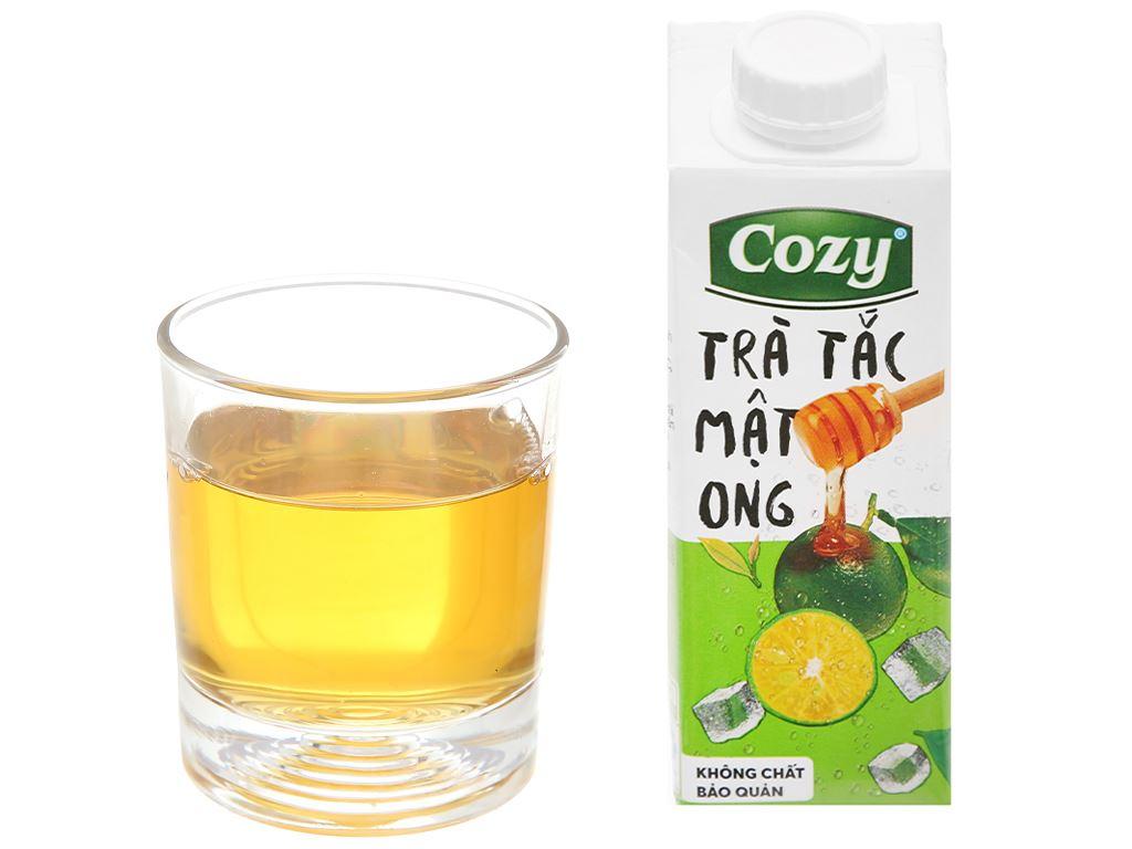 Trà tắc mật ong Cozy 225ml 7