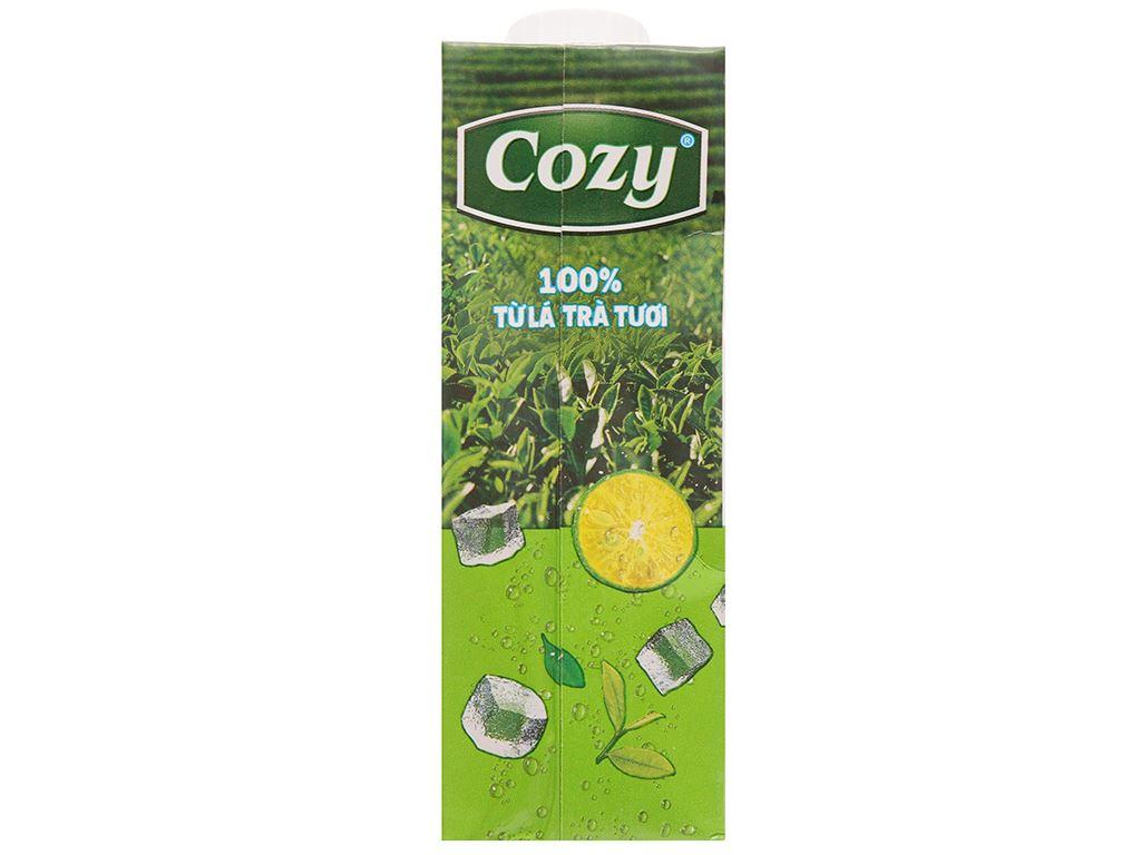 Thùng 24 hộp trà tắc mật ong Cozy 225ml 4