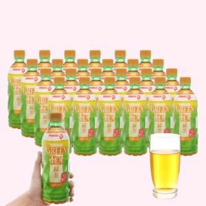 Thùng 24 chai trà xanh hoa lài Pokka 500ml