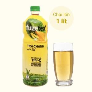 Trà chanh với sả Fuze Tea 1 lít