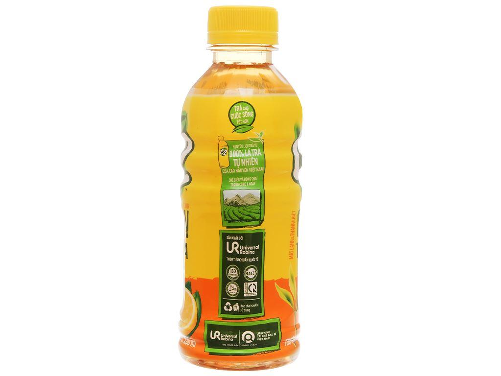 Thùng 24 chai trà xanh C2 hương chanh 230ml 4