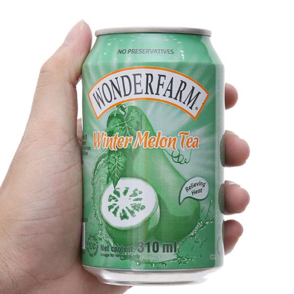 Trà bí đao Wonderfarm 310ml